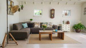 סלון ביתי מעוצב – ביטוח דירה צד ג'