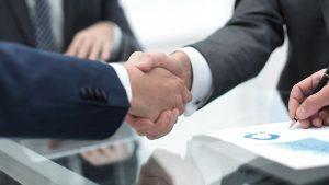 לחיצת ידיים - ביטוח עסק מבנה / תכולה